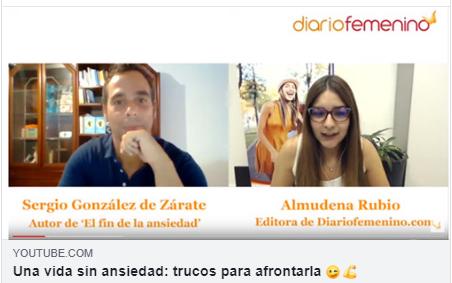 ▷ Entrevista a Gio Zararri en DiarioFemenino | El fin de la ansiedad