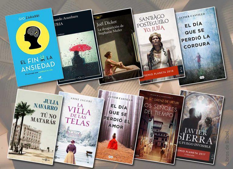 Los libros mejor valorados en Amazon España