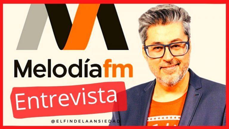 Entrevista sobre la ansiedad en Melodía FM