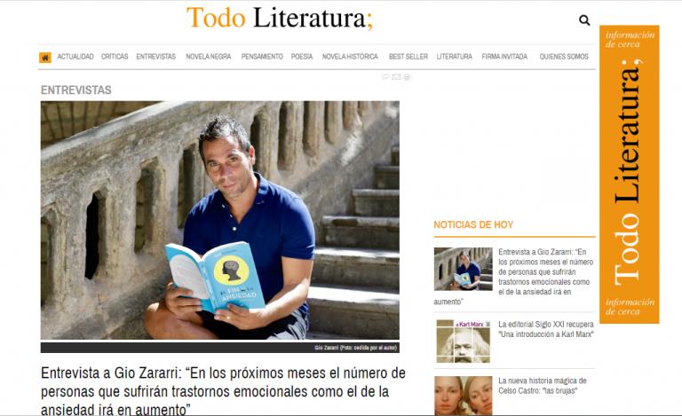 Entrevista en TodoLiteratura
